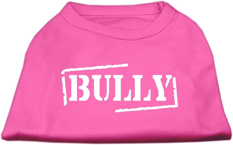 Dog   Cat   Pet Charms Bully Screen Printed Shirt Bright Pink XL (16)