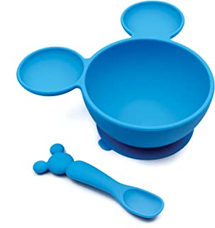 Bumkins First Feeding Set, Mickey Mouse, Blue , Piece of 1
