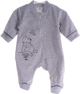 A&O-Malgosia Baby Strampler Einteiler Bär Nicki 50 56 62 68 74 80 grau Overall
