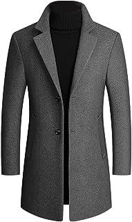 EASTEMPO コート メンズ ロングコート ウール チェスターコート ジャケット ビジネス カジュアル 防寒 秋冬 大きいサイズ