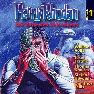 Die Zone des Schreckens (Perry Rhodan Hörspiel 01) Titelbild