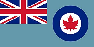 DIPLOMAT-FLAGS Royal Canadian Air Force Ensign 1941-1968 Flag | Landscape Flag | 0.06m² | 0.65sqft | 17x34cm | 7x14inch Car Flag Poles