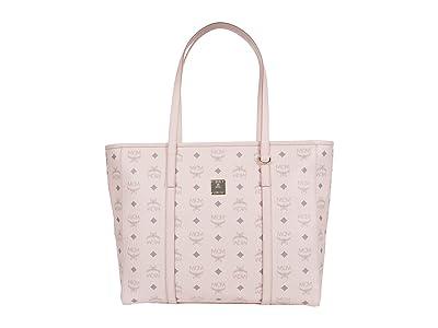 MCM Toni Visetos Shopper Medium (Powder Pink) Bags