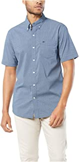 Men's Short-Sleeve Button-Down Comfort Flex Shirt