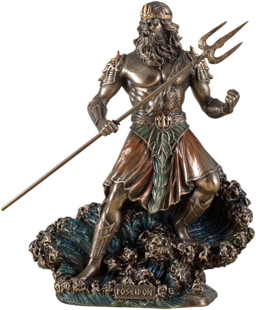 Veronese - statuina di dio marino poseidon