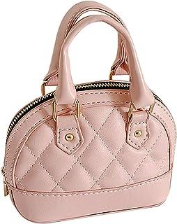 Rebecca Girls Mini Shell Satchel Purse Cute Top Handle Handbag Chain Crossbody Bag