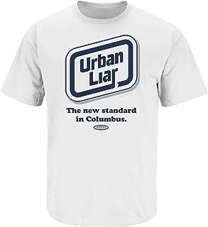 Penn State Football Fans. Urban Liar White T-Shirt (S-5X)