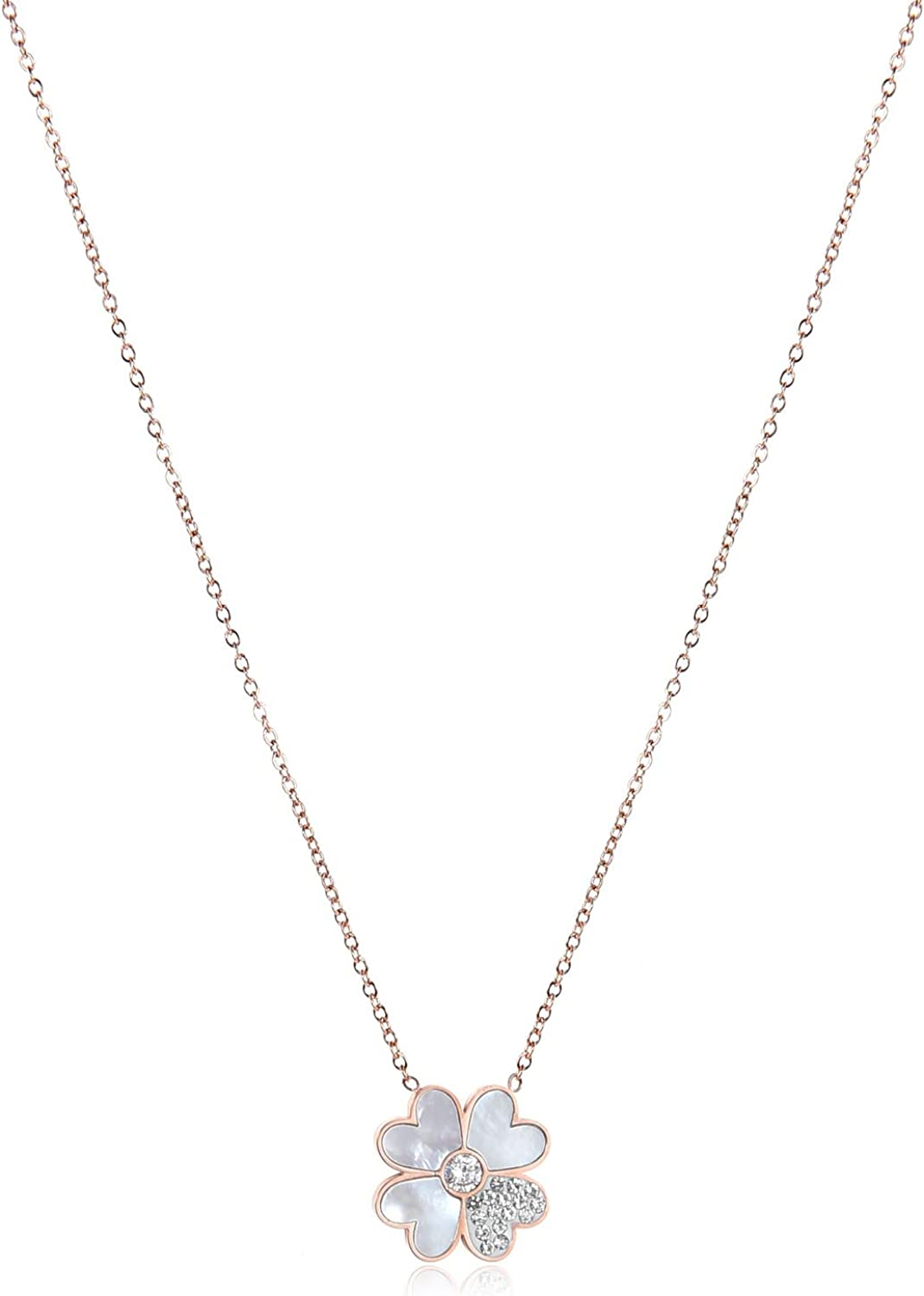 366DAYS Valentine's Day Jewelry Gift Stainless Selling and selling Titani 316l Max 47% OFF Steel