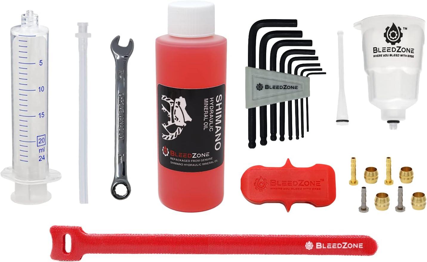 RSN Sports Master Bargain sale Bleed Popular Kit for wit MTB Brakes Shimano Hydraulic