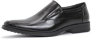 [サンエープラス] 2673 ビジネスシューズ 防滑 ロングノーズ 革靴