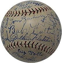 The Finest 1930 NY Yankees Team Signed Baseball Babe Ruth & Lou Gehrig COA - JSA Certified - Autographed Baseballs