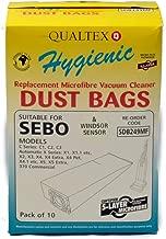 Qualtex Windsor Sensor, Sebo Vacuum Cleaner Bags 52-2422-01
