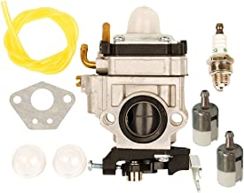 HIFROM Carburetor with Fuel Line Repower Tune-up kit for Echo PB-755 PB-755H PB-755T PB-755SH PB-755ST PB-751 PB-751H for Shindaiwa EB-633RT Power Blower Replace Walbro WYK-192 WYK192