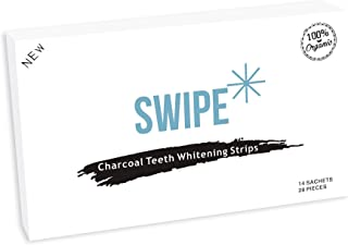 Dental Teeth Whitening Strips - Premium Charcoal Teeth Whitening Strips - Charcoal Dental Professional Effects - Organic Teeth Whitening - 28 Strips for White and Brighter Smile