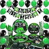 WERNNSAI Conjunto de Suministros para la Fiesta Juego - Party Decoracion Chicos Cumpleaño...