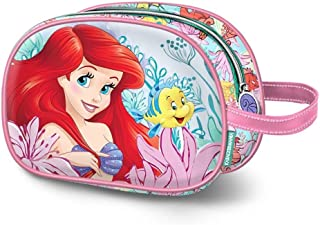 Karactermania Ariel Coral-Oval Toiletry Bag, 23 cm, Pink