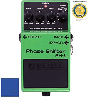 Boss PH-3 Phase Shifter Pedal with 1 Year Free Extended Warranty