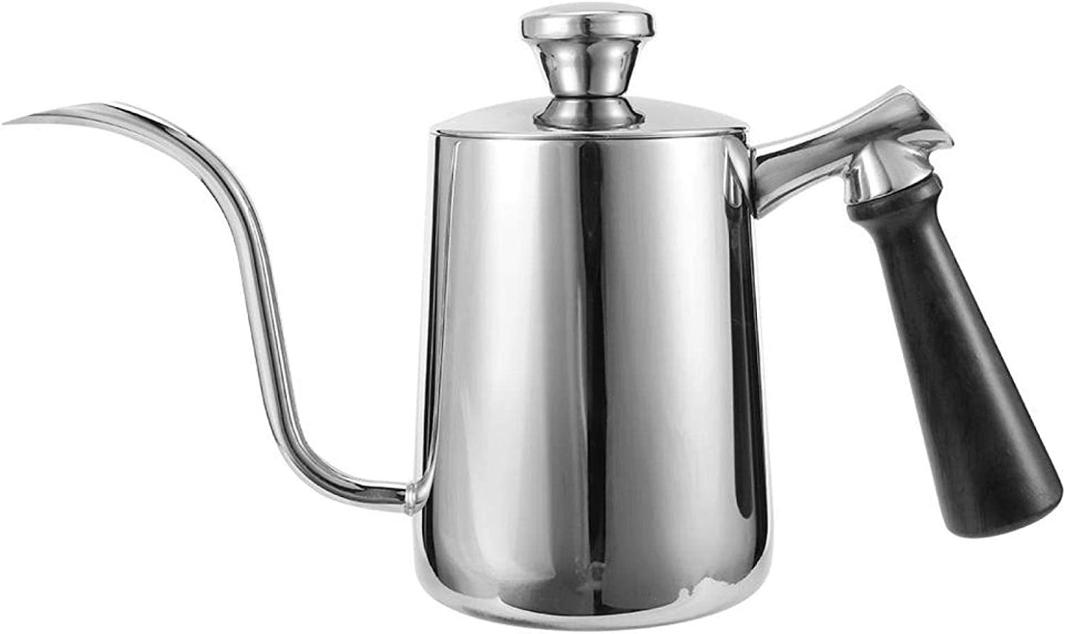 Coffee Spout Free shipping anywhere in the nation Pour Kettle Stainless Long Today's only Steel Thin Ski Non
