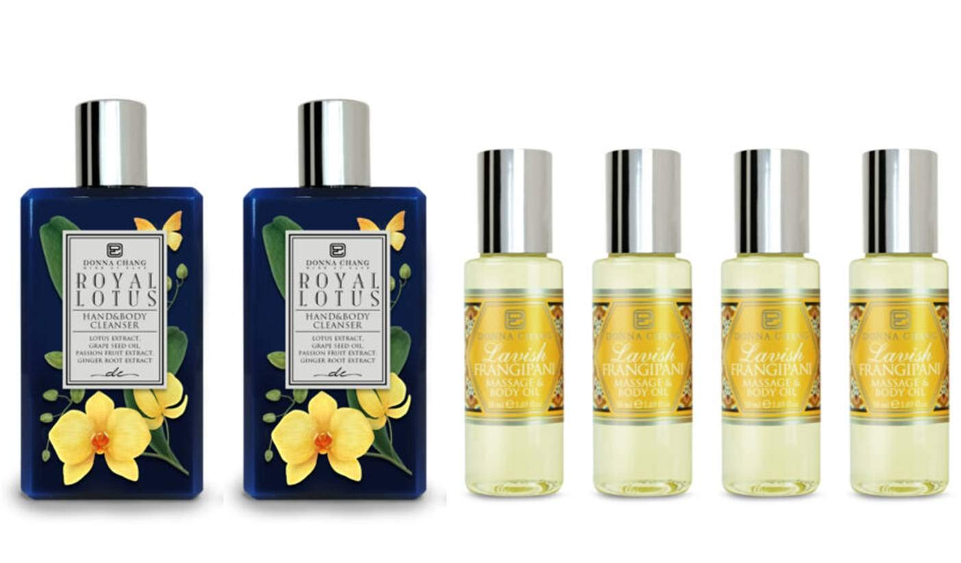 Donna Chang Royal Lotus Shower Gel Lavish 67% OFF of fixed price Popular brand in the world Body and Oi Frangipani