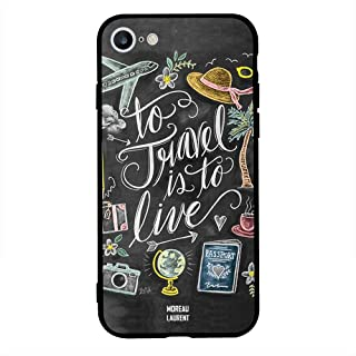 iPhone 6/ 6s Case Cover To Travel Is To Live Tags, Moreau Laurent Protective Casing Premium Design Covers & Cases