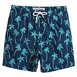 MaaMgic 水着 キッズ サーフパンツ インナー付き 男の子 海水パンツ 短パン ジュニア 子供 UVカット 速乾