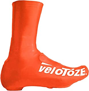 Velotoze Tall Bike Shoe Covers Viz Orange 2016