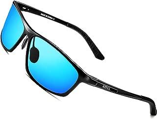 Men's Polarized Driving Fishing Golf Sunglasses Al-Mg Metal Frame Ultra Light