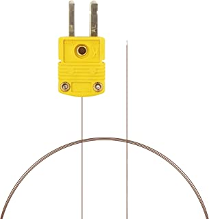 PerfectPrime TL0201, 0.1mm Diameter, K-Type Sensor Probe for K-Type Thermocouple Thermometer/Meter in Temperature Range from up to 200 °C/ 392°F