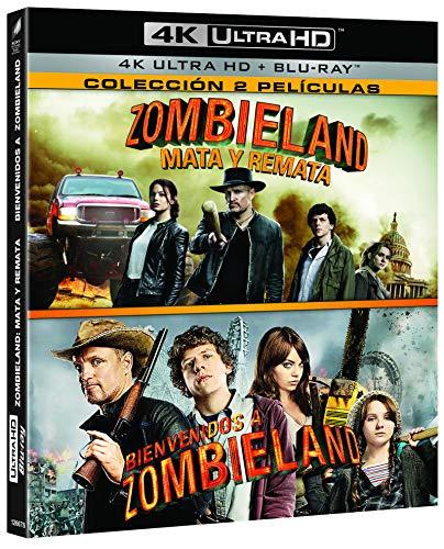 Pack: Zombieland 1 + Zombieland 2 (4K Ultra HD + BD) [Blu-ray]