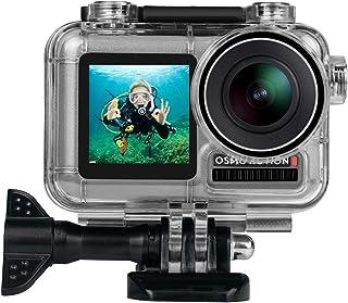 حافظة مقاومة للماء لكاميرا دي جيه اي او اس مو أكشن، 40 متر تصوير تحت الماء حافظة واقية مع ملحقات قوس لـ OSMO كاميرا الرياضة