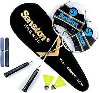 Senston Raquetas de Bádminton,Unisex Adulto Badminton