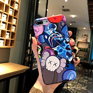 Kplvet iPhone 8 Plus 7 Plus Case,IMD Tech Top Sleek Smooth Feeling Anti Scratch Non Faded Coloring Premium Soft TPU Slim Fit Protective Phone Cover for 5.5 iPhone 8p 7p (ShaYu Bear)