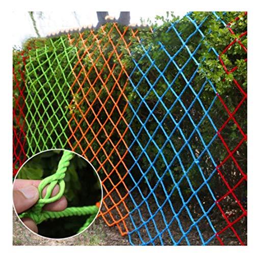 HJRD Child Safety Net, Outdoor Balcony Protection Net, Stair Climbing Anti-fall Net, Garden Fence Net, Cat Net, Roof Net Bag, Fall Prevention, Nylon Rope Net