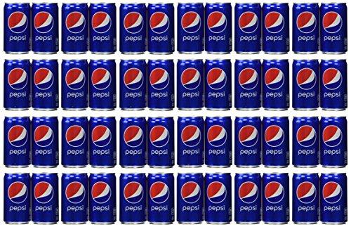 Pepsi Cola Soda 7.5oz Mini Cans 3/8 Packs (24 Cans)