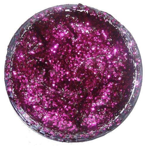 Snazaroo - Pintura facial y corporal con gel de purpurina, 12 ml, color rosa fucsia