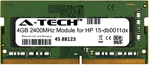 A-Tech 4GB Module for HP 15-db0011dx Laptop & Notebook Compatible DDR4 2400Mhz Memory Ram (ATMS381854A25824X1)