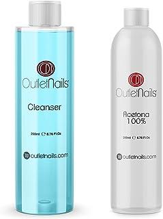 Cleaner 200ml Coco Azul + Acetona 100% Pura 200ml de alta calidad | Made in Spain