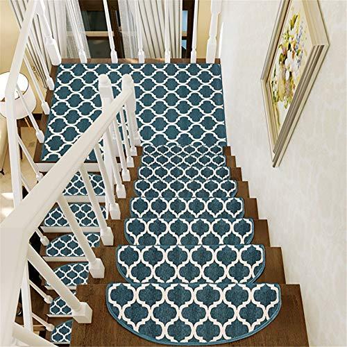 Alfombras 1 unids interior peldaños de la escalera antideslizante alfombra alfombra interior peldaños de la pisada esteras alfombras con buen respaldo para escaleras Alfombras ( Color : 7 , Size : D )