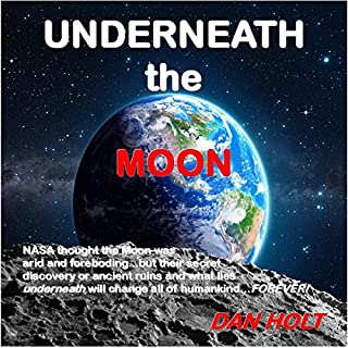 Underneath the Moon audiobook cover art