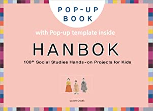 Hanbok: DIY pop-up card making craft books for kids, Korean culture and travel, Korea traditional costume Hanbok (English ...