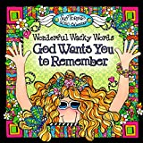 Blue Mountain Arts 2020 Wall Calendar 'Wonderful Wacky Words God Wants You to Remember' 7.5 x 7.5 in. 12-Month Wall Calendar by Suzy Toronto Provides Inspiration for the Year