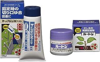 【セット買い】 住友化学園芸 殺菌剤 トップジンMペースト 100g & 植物成長調整剤 ルートン 15g