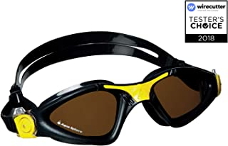 Aqua Sphere Kayenne Swim Goggles – Made in Italy – Adult UV Protection Anti..