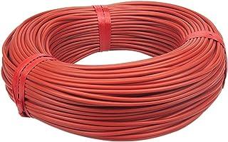 DZF697 1PC12K câble de Chauffage en Fibre de Carbone Infrarouge de 1pc12K, au Sol/Mur à Chaud/à la Serre, à la volaille de...