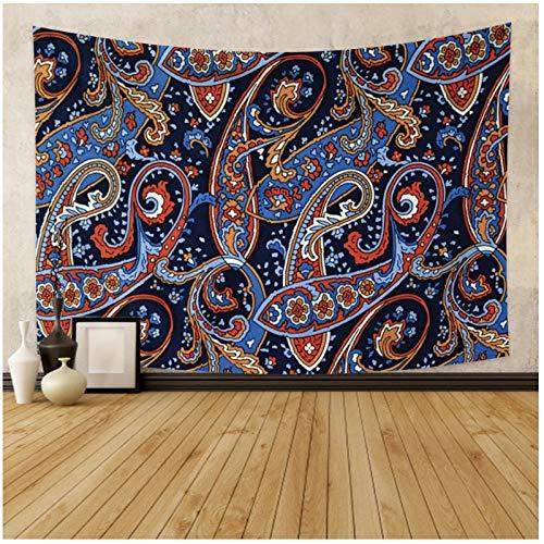 KBIASD Tapiz psicodélico Misterioso Hippie patrón Abstracto impresión tapices de Pared Manta mágica decoración de Dormitorio poliéster 150x130cm