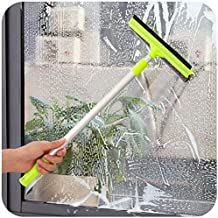 Sankirtan Extendable Solid Handheld Vehicle Glass Cleaning Squeegee Wiper with Sponge (Standard Size)