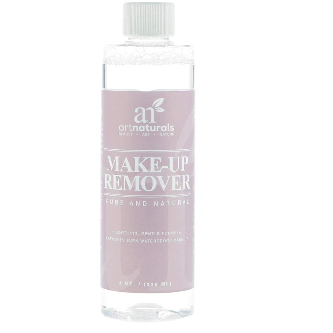 間違えた情報霊ArtNaturals Makeup Remover, Oil Free, Natural Cleansing Cosmetics, 8.0 o