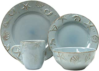 Thomson Pottery 16-pc. Cape Cod Set AQUA BLUE