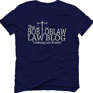 Men's Navy The Bob Loblaw Law Blog Man's T-Shirt