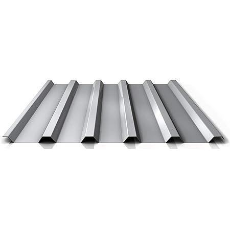 Farbe Anthrazitgrau Profilblech Dachblech Beschichtung 25 /µm Profil PS35//1035TR Material Stahl Trapezblech St/ärke 0,50 mm